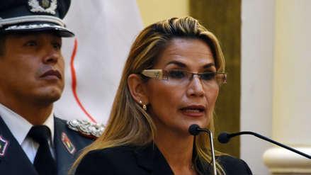 Estados Unidos y Brasil reconocen a Jeanine Añez como presidenta interina de Bolivia
