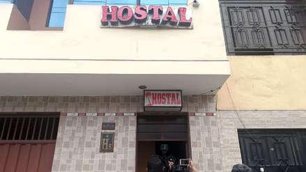Fiscalía inspeccionó hostal donde estuvo secuestrada joven madre [VIDEO]