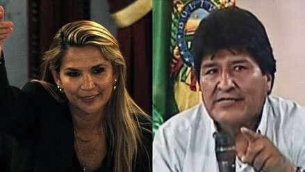 """Jeanine Áñez: """"Evo Morales se fue porque no se atrevía a responderle a Bolivia"""""""