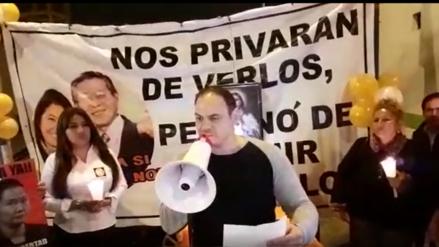 Mark Vito Villanella se declara en huelga de hambre por la libertad de Keiko Fujimori