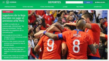 Perú vs. Chile no se jugará: así informaron la cancelación del partido los medios sureños