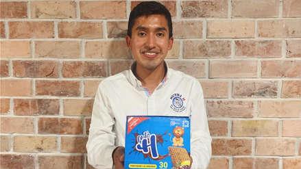 Julio Garay, el joven ayacuchano que promete eliminar la anemia con las galletas 'Nutri H'