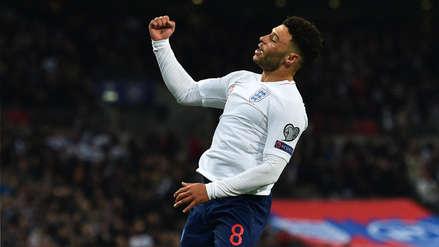 ¡Abrió el marcador! Alex Oxlade-Chamberlain puso el primer gol en el Inglaterra vs. Montenegro - RPP