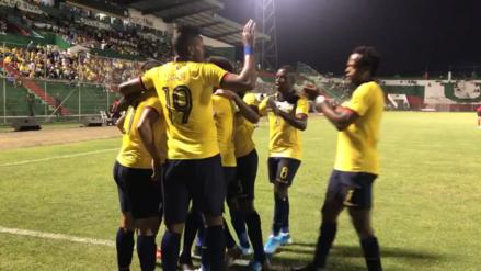 ¡Se puso de '9'! Alan Franco marcó el primer gol del partido entre Ecuador y Trinidad y Tobago - RPP