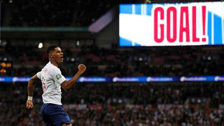 ¡No dejan de anotar! Marcus Rashford marcó el cuarto gol de Inglaterra ante Montenegro - RPP