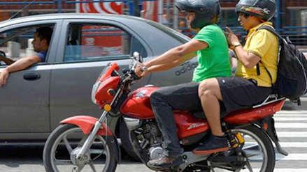 MTC prohíbe el servicio de taxi en moto y ordena el bloqueo de aplicativos