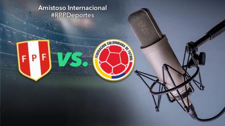 Perú 0-1 Colombia: RPP transmitió el amistoso internacional por la fecha FIFA