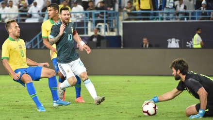 Lionel Messi regresó con gol: Argentina venció 1-0 a Brasil en amistoso internacional por fecha FIFA