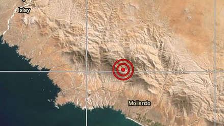 Sismo de magnitud 4.2 remeció Arequipa esta mañana
