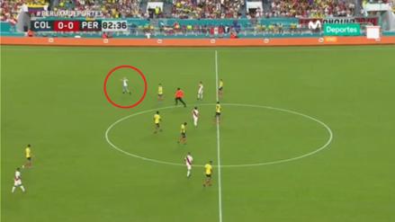 ¡Detuvo el partido! Hincha de la Selección Peruana ingresó a la cancha del amistoso ante Colombia