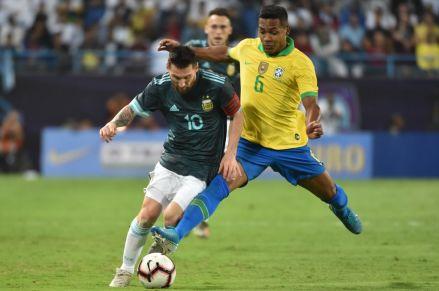 Con gol de Lionel Messi, Argentina ganó 1-0 a Brasil en amistoso internacional