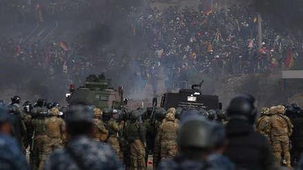 La presidenta interina de Bolivia denunció la infiltración de extranjeros armados en las protestas