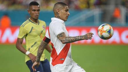 Paolo Guerrero tras el Perú vs. Colombia: