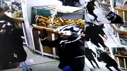¡Terror en panadería de Lince!: Marcas irrumpen en local, disparan al aire y roban 15 mil soles a hombre