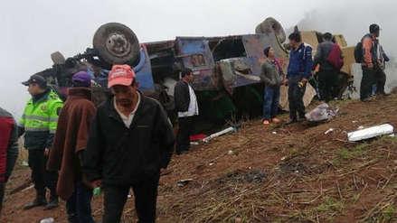 La Libertad: dictan 10 meses de prisión preventiva para chofer de bus que cayó a un abismo en Otuzco - RPP