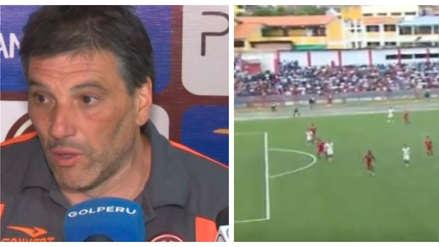 Gerardo Ameli sobre el polémico gol de Janio Pósito: