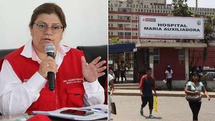 Exministra Zulema Tomás nombró en jefatura de hospital a la madre de la pareja de su hijo