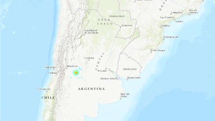Un sismo de magnitud 6.0 sacudió Argentina