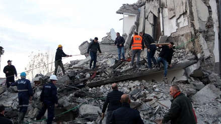 Terremoto en Albania dejó al menos nueve muertos y 600 heridos