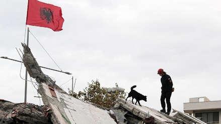 Sube a 49 la cifra de muertos por el terremoto en Albania