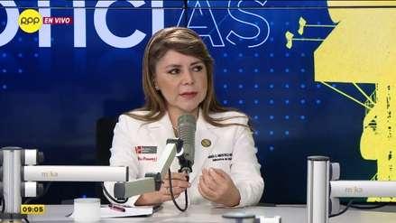 Ministra de Salud: Decreto de urgencia para el aseguramiento universal