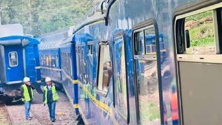 Tren turístico de Machu Picchu resultó afectado tras caída de rocas