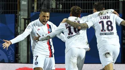 Con goles de Neymar y Kylian Mbappé, PSG venció 3-1 a Montpellier  por la Ligue 1 de Francia | RPP Noticias