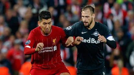 [EN VIVO] Liverpool vs. Red Bull Salzburg EN DIRECTO. VER ONLINE vía ESPN por el Grupo E en el Red Bull Arena de Salzburgo | Fútbol EN VIVO | Fase de Grupos | RPP Noticias