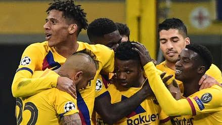 Barcelona venció 2-1 al Inter de Milán en San Siro y lo eliminó de la Champions League