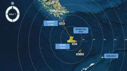 ¿Quiénes viajaban en el avión militar chileno que desapareció rumbo a la Antártida?