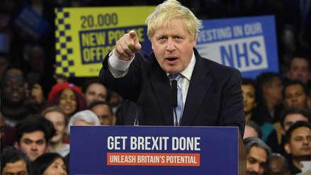 Aplastante victoria de Boris Johnson asegura el camino del Reino Unido hacia el Brexit