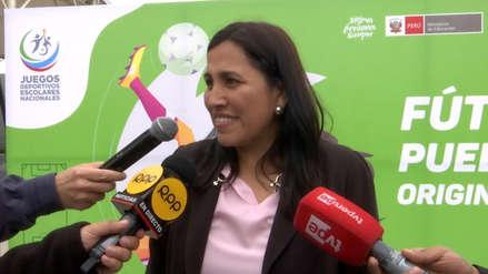 Supervisión a colegios y enfoque de género: Escucha las declaraciones de la ministra Flor Pablo en Ampliación de Noticias