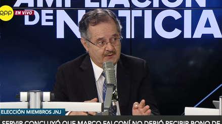 Junta Nacional de Justicia: Los cuestionamientos por la elección de Marco Falconí