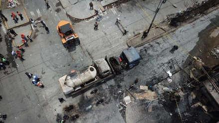 Dos muertos y 48 heridos tras deflagración por fuga de gas de camión cisterna en VES