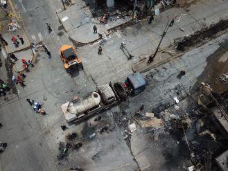Villa El Salvador: Sigue minuto a minuto la emergencia por explosión tras fuga de gas de camión cisterna
