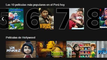 Netflix te dirá las 10 series y películas más vistas de Perú cada día: estas son las de este lunes