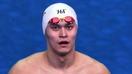 El nadador chino Sun Yang fue suspendido ocho años por destruir una muestra antidopaje a martillazos