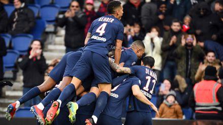 PSG goleó 4-0 al Dijon como local en la fecha 27 de la Ligue 1   RPP Noticias