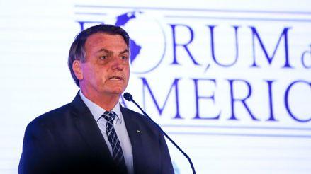 """""""¡Dejen de creer en las noticias falsas!"""": Bolsonaro asegura que dio negativo a prueba del Covid-19"""