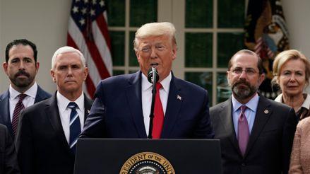 Donald Trump declara en emergencia nacional a EE.UU. por la pandemia del coronavirus