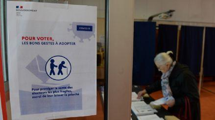 Francia: El nuevo coronavirus derrumba la participación en elecciones municipales