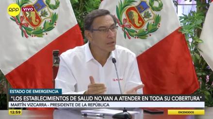 """Martín Vizcarra: """"Estamos en la tercera fase, que es el contagio comunitario"""" [VIDEO]"""