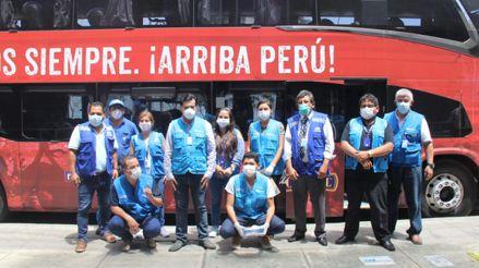 Coronavirus | FPF puso a disposición bus de la Selección Peruana para combatir la Emergencia Nacional
