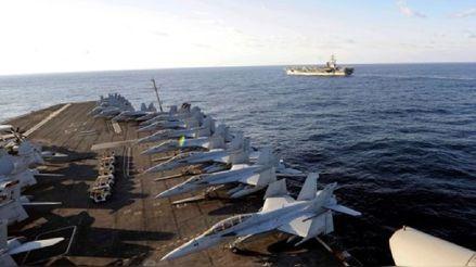 Tres marinos estadounidenses a bordo de un portaaviones desplegado en el Pacífico dan positivo a coronavirus