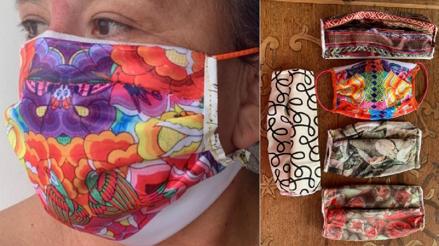 """""""La empatía tiene que ser revolucionaria"""": Inés, la fotógrafa que hace mascarillas caseras de notex y tela"""