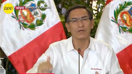 Martín Vizcarra anuncia que casos positivos de COVID-19 ya son 580