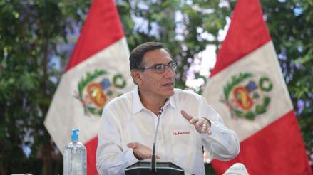 Martín Vizcarra sobre casos positivos de COVID- 19: