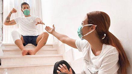 Ezequiel Garay superó el coronavirus y lo celebra en sus redes sociales: