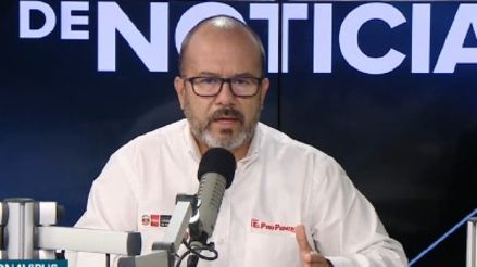 Ministro Zamora habla de la posiblidad de una