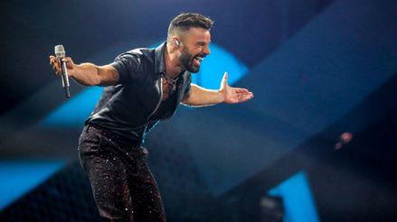Ricky Martin graba el nuevo videoclip de